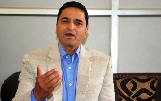 Saying that the UML has lost its footing, Yogesh gave a signal to the top leaders to leave the Madhav group