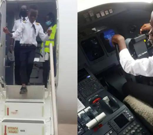 7 साल के बच्चे को हवाई जहाज उड़ाता देख हैरान, कैसे बन गया एक अनुभवी पायलट !