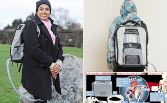 बैग में अपने हृदय से घूम रही है यह महिला : मिलना चाहती है ?  the woman who carries her heart in a bag
