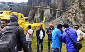Amitabh Bachchan, Danny Denzongpa, Anupam Kher, Boman Irani, Parineeti Chopra in Nepali hills for filming
