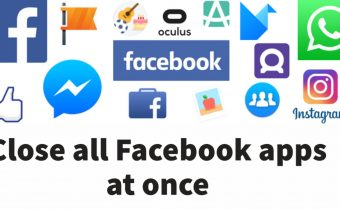 Close all Facebook apps at once