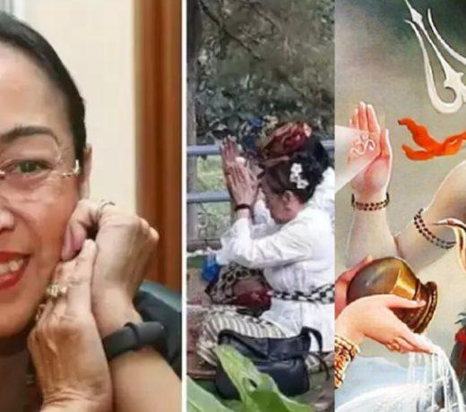 इंडोनेशिया के पूर्व राष्ट्रपति की बेटी ने इस्लाम धर्म छोड़ दिया और हिंदू धर्म चुना