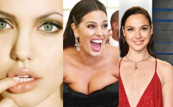 The Worlds Most Stunning Women Angelina Jolie, Ashley Graham, Gal Gadot