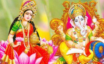 diwali laxmi and ganesh pooja
